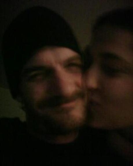 My husband and me